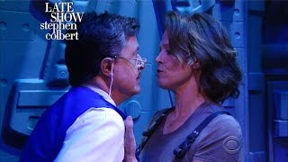Download Exclusive 'Alien' Trailer With Sigourney Weaver And Stephen Colbert Video