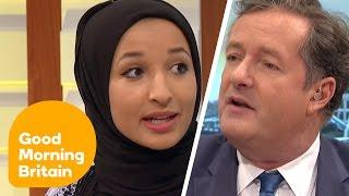 Download Piers Morgan Debates Headscarf Ban With Muslim Women   Good Morning Britain Video