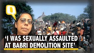 Download How a Journalist was Sexually Assaulted on Babri Demolition Day | The Quint Video