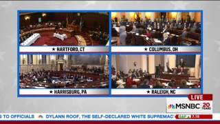 Download MSNBC Shows Clip of Electors Having Meltdowns When Trump Wins Video