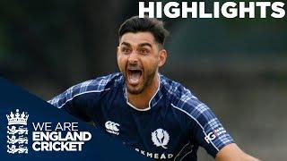 Download Scotland Beat England For The First Time Ever | Scotland v England ODI 2018 - Highlights Video