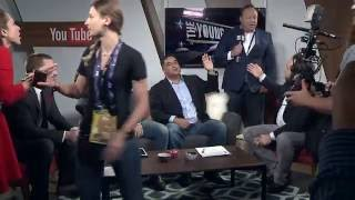 Download Alex Jones And Roger Stone Interrupt The Young Turks Republican National Convention Coverage Video
