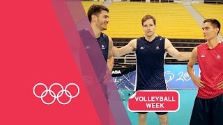 Download Volleyball Serving Challenge with USA Men's Team Video