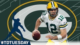 Download Every Aaron Rodgers 40+ Yard TD! | ″The Hail Mary King″ | #TDTuesday | NFL Video
