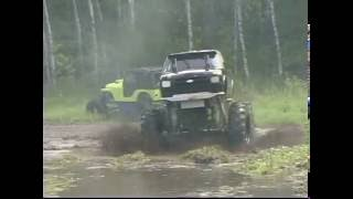 Download Mud Bogging Mega Trucks In Northern Minnesota - 4XMayhem Video
