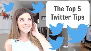 Download Twitter Tutorial - Top 5 Twitter Tips Video