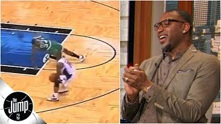 Download Tracy McGrady convinces producers to show video of Paul Pierce getting ankles broken | The Jump Video