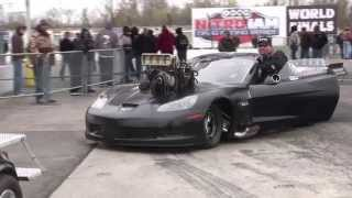 Download 3.97 @194mph ON DRAG RADIALS!!! Video