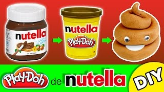 Download Cómo hacer PLASTILINA CASERA * Play Doh de NUTELLA comestible Video