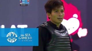 Download Pencak Silat Men's Tanding Class A Semi-Final PHI vs INA (Day 8) | 28th SEA Games Singapore 2015 Video