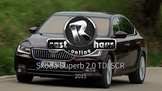 Download Skoda Superb 2.0 TDI SCR Test 2015 Video
