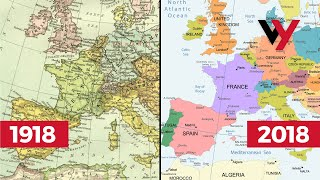 Download How The World Map Has Changed In 100 Years (Since WWI) Video