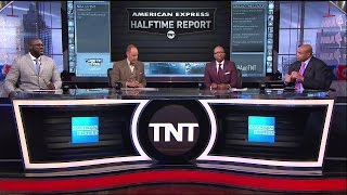 Download Wizards vs Hawks Game 1 NBA Playoffs Halftime Report | Inside The NBA | April 16, 2017 Video