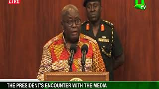 Download President Akufo-Addo Meets The Press Video