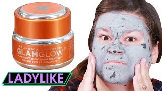 Download Women Try Hollywood Glamour Face Masks • Ladylike Video