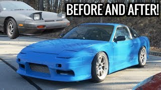 Download 2JZ 240sx Build in 10 minutes - Before and After of BLUEJZ! Video