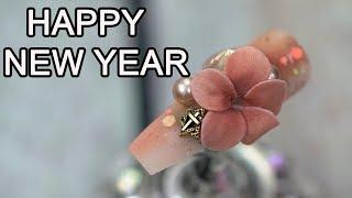 Download Hướng Dẫn Đắp Hoa Nổi 3D cho Năm Mới ✅ New Year Nail Art Designs Compilation #19 ✅ Nailzone Video