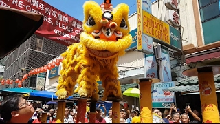 Download CNY2017 (Cap Go Meh) 闹元宵 #1 ~ Khuan Loke 群乐 Acrobatic Lion Dance (舞獅 Múa Lân) @ Petaling Sreet (4K) Video