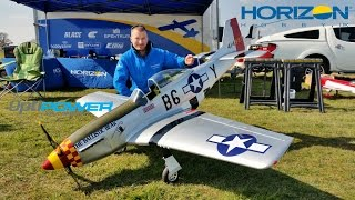 Download HANGAR 9 P-51D MUSTANG 60cc ARF MAIDEN GIANT SCALE RC OPTIPOWER 50C ULTRA EP CONVERSION - 2016 Video