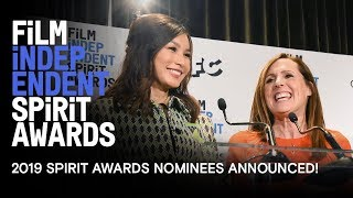 Download Gemma Chan & Molly Shannon Announce the 2019 Spirit Award Nominees! Video