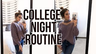 Download REAL COLLEGE NIGHT ROUTINE 2017   Natalie Barbu Video