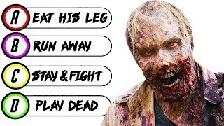 Download 15 Questions to Determine if You Would SURVIVE The ZOMBIE APOCALYPSE | Chaos Video