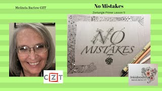 Download Tangle Art Lesson #402 No Mistakes Video