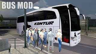 Download ETS2 TRAVEGO BUS MOD (Euro Truck Simulator 2) Video