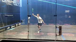 Download Greg Gaultier and Simon Rösner practising at the British Open squash 2018 Video