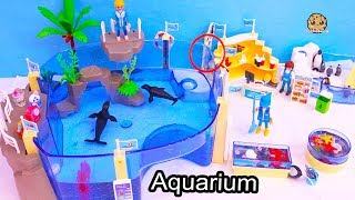 Download Shopkins Go To Aquarium - Playmobil Water Animal Park Toy Video Video