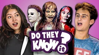 Download DO TEENS KNOW 70s HORROR MOVIES? (REACT: Do They Know It?) Video