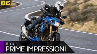 Download Suzuki GSX-S 750 Test [ENGLISH SUB] Video