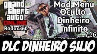 Download Gta V Mod Menu Oculto + Dinheiro Infinito 1.27 LT 3.0 e LTU Xbox 360 Desbloqueado! Video