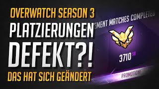 Download Overwatch | Season 3 Platzierungs-System kaputt?! | Ranking erklärt! ★ Overwatch Deutsch Video
