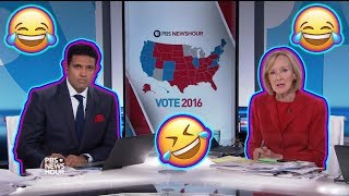 Download The moment PBS NewsHour realizes Donald Trump has WON THE ELECTION Video
