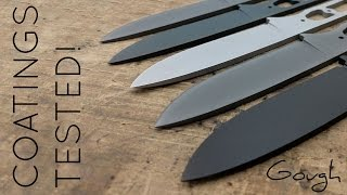 Download Knife coating showdown! 6 different blade coatings tested. Video