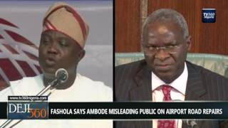 Download DEJI360 EP 150 Part 3: Ambode, Fashola clash over planned work on Lagos Airport road (Nigerian News) Video