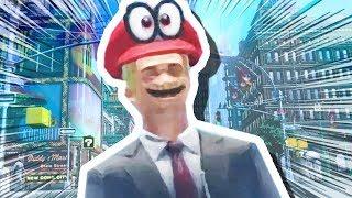 Download MARIO TURNS INTO A HUMAN!!! (Super Mario Odyssey #4) Video