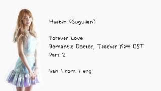 Download Haebin (Gugudan) - Forever Love (Romantic Doctor, Teacher Kim OST Part 2) [han   rom   eng] LYRICS Video