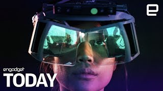 Download Leap Motion crafts a reference design for cheap AR headsets | Engadget Today Video