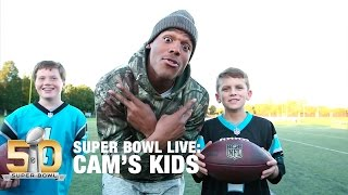 Download Behind The Scenes With Cam's Kids | Super Bowl Live | NFL Video