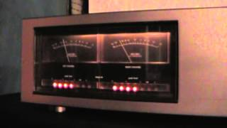 Download Vintage MONSTER Luxman M-4000A Solid State Power Amplifier 2 X 180 Watts Video