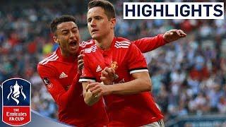 Download Manchester United 2-1 Tottenham | Herrera Wins it For United! | Emirates FA Cup Semi Final Video