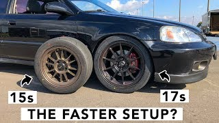 Download Is Bigger Better? 15 Inch Vs 17 Inch Wheels & Tires Video