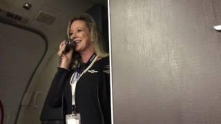Download Marty Cobb - Hilarious Southwest Flight Attendant Video