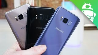 Download Samsung Galaxy S8 Color Comparison: Which One's The Nicest? Video