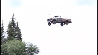 Download Launching Cars Off a Cliff for 4th of July, Alaska Reality NO Hollywood Drama Video