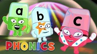 Download Phonics - Learn to Read | Awesome Alphabet | Alphablocks Video