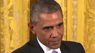 Download Obama Scolds Reporter For Stupid Question Video