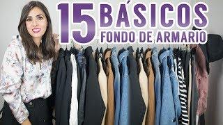 Download 15 básicos que no pueden faltar en tu fondo de armario | Moda Video